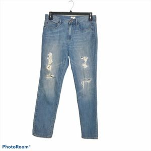 J. Crew Factory Distressed Jeans